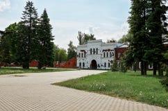 Białoruś Dom uszkadzał strzelać w Brest fortecy Maj 23, 2017 Obraz Royalty Free