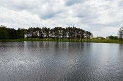 Białoruś Grodno Mir kasztel jest muzeum i kasztelu kompleksem Ościenny terytorium kasztel Maj 22, 2017 Obraz Royalty Free