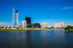 Białoruś, Minsk, architektura Obraz Royalty Free