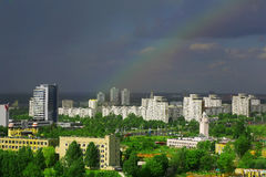 Białoruś, Minsk, kompleks Fotografia Stock