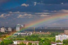 Białoruś, Minsk, niezależności aleja Obraz Royalty Free