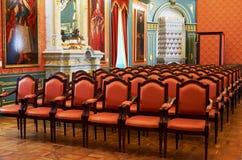 Białoruś Nesvizh kasztel Radziwill rodzina Wnętrze kasztel Maj 22, 2017 Fotografia Royalty Free