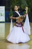 BIAŁORUŚ, PAŹDZIERNIK, 21: Dancingowa para Obrazy Stock