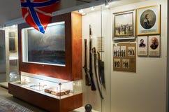Białoruś wojna Brest pomnik wejściowy forteczny główny Muzeum obrona Brest bohater Wewnętrzna dekoracja muzeum Maj 23, 2017 Zdjęcia Royalty Free