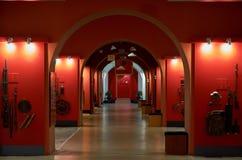 Białoruś wojna Brest pomnik wejściowy forteczny główny Muzeum obrona Brest bohater Wewnętrzna dekoracja muzeum Maj 23, 2017 Fotografia Royalty Free