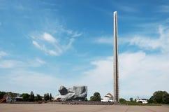 Białoruś wojna Brest pomnik wejściowy forteczny główny Pomnikowy ` odwaga ` w Brest fortecy Maj 23, 2017 Obraz Stock