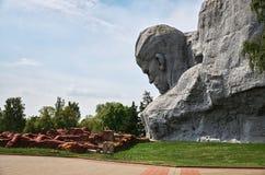 Białoruś wojna Brest pomnik wejściowy forteczny główny Pomnikowy ` odwaga ` w Brest fortecy Maj 23, 2017 Fotografia Stock