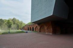 Białoruś wojna Brest pomnik wejściowy forteczny główny Zabytek Drugi wojna światowa Maj 23, 2017 Obrazy Royalty Free