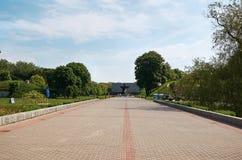 Białoruś wojna Brest pomnik wejściowy forteczny główny Zabytek Drugi wojna światowa Maj 23, 2017 Zdjęcie Royalty Free