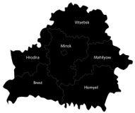 białorusi ilustracja wektor