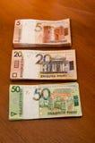 Białoruski pieniądze BYN Białoruś pieniądze Fotografia Royalty Free