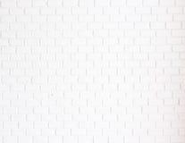 Biały ściana z cegieł Obraz Royalty Free