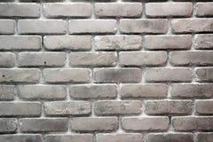Biały ściana z cegieł Fotografia Stock