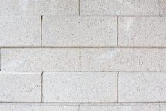 Biały ściana z cegieł bezszwowy wzoru Zdjęcia Royalty Free