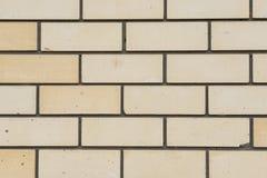 Biały ściana z cegieł, perfect jako tło, kwadratowa fotografia Zdjęcie Stock