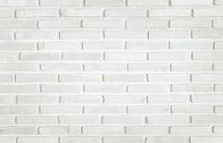 Biały ściana z cegieł tekstury tło Deseniowego bielu łupku kamienna ściana Obraz Stock