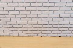 Biały ściany z cegieł tła texure zdjęcia royalty free