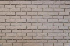 Biały ściany z cegieł tła texure zdjęcie stock