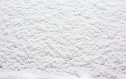 Biały śnieżny tło, śnieżna tekstura, Zdjęcia Royalty Free
