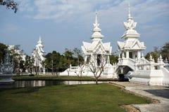 Biały świątynia Obraz Royalty Free