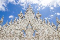 Biały świątynia zdjęcia stock