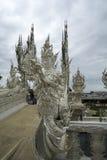 Biały świątynia, wat rong khun, Chiang Rai Obrazy Royalty Free