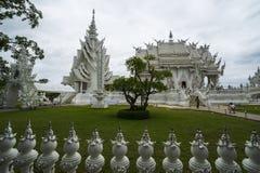 Biały świątynia, wat rong khun, Chiang Rai Fotografia Stock