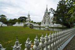 Biały świątynia, wat rong khun, Chiang Rai Fotografia Royalty Free