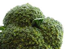 biały świezi zieleni makro- warzywa zdjęcie royalty free
