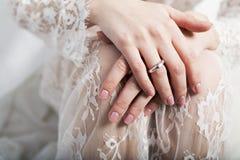 biały żeńskie tło ręki fotografia royalty free