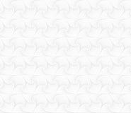 Biały abstrakcjonistyczny geometryczny bezszwowy wzór Lekki tło dla układów, strony internetowej tło, tapetowy projekt ilustracja wektor