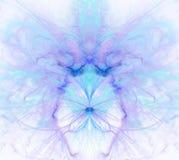 Biały abstrakcjonistyczny tło z tęczą - purpura, turkus, błękitny Obrazy Royalty Free