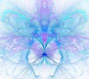 Biały abstrakcjonistyczny tło z tęczą - purpura, turkus, błękitny Zdjęcie Royalty Free