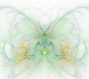 Biały abstrakcjonistyczny tło z tęczą - zieleń, turkus, orang Zdjęcia Stock
