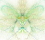 Biały abstrakcjonistyczny tło z tęczą - zieleń, turkus, yello Zdjęcie Royalty Free