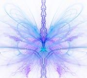 Biały abstrakcjonistyczny tło z wielo- barwionym - błękit, turkus, Zdjęcia Royalty Free