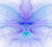 Biały abstrakcjonistyczny tło z zimnem - błękit, turkus, purpury - Obrazy Royalty Free