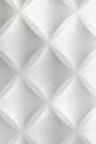 Biały abstrakta 3D polistyrenu płytki ściany Nowożytny Domowy Wewnętrzny Bac Fotografia Royalty Free