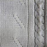 Biały acryl płótno Obraz Stock