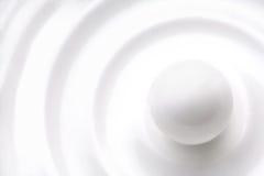 biały bal obrazy stock