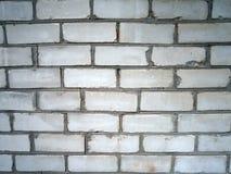 Biały brickwork tło Zdjęcie Stock