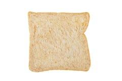 Biały całej banatki chleba plasterek Fotografia Royalty Free