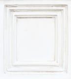 Biały cementu rama zdjęcie royalty free
