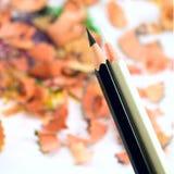 biały czarny ołówki Zdjęcia Stock
