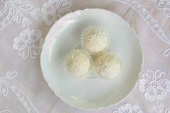 Biały czekolada Fotografia Royalty Free