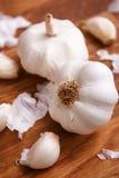 Biały czosnek Zdjęcie Royalty Free