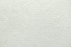 Biały handmade papieru tło Zdjęcia Royalty Free