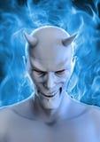 Biały diabeł ilustracja wektor