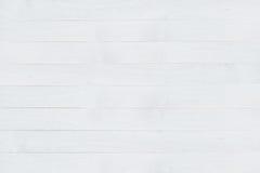 Biały drewniany pokład fotografia royalty free
