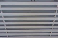 Biały Drewniany sufit Zdjęcia Stock